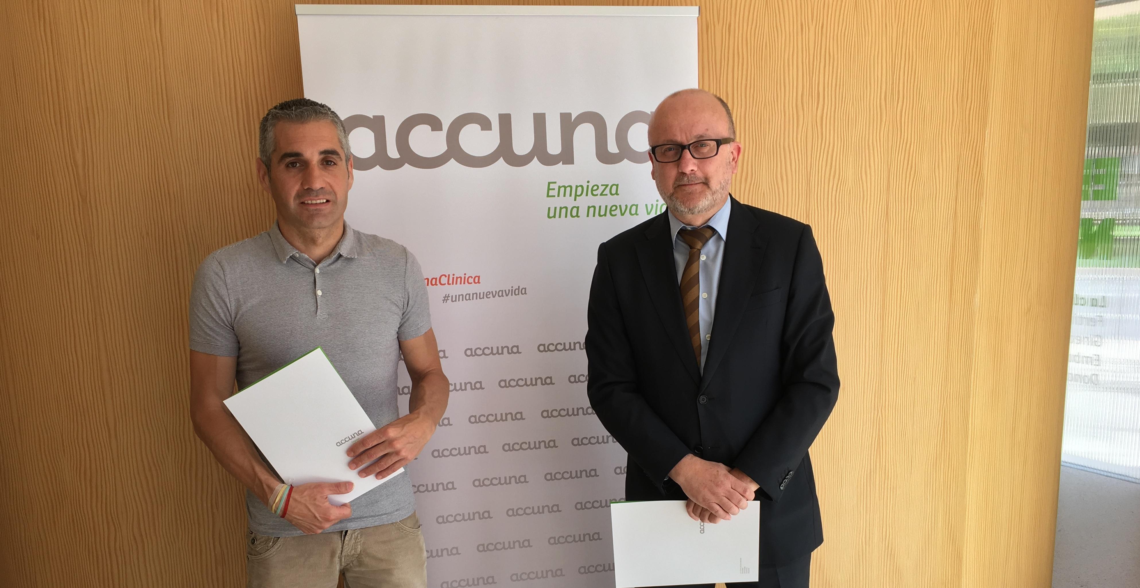 Accuna firma el convenio con la Asociación TDAH Antonio García
